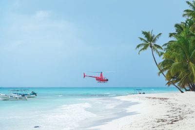 Saona Island By Helicopter Tour