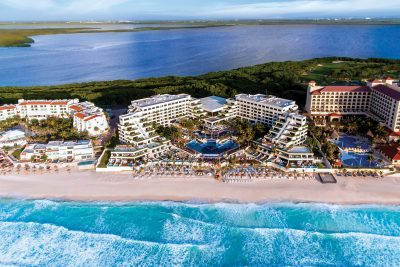 Now Emerald Cancun Aerial View