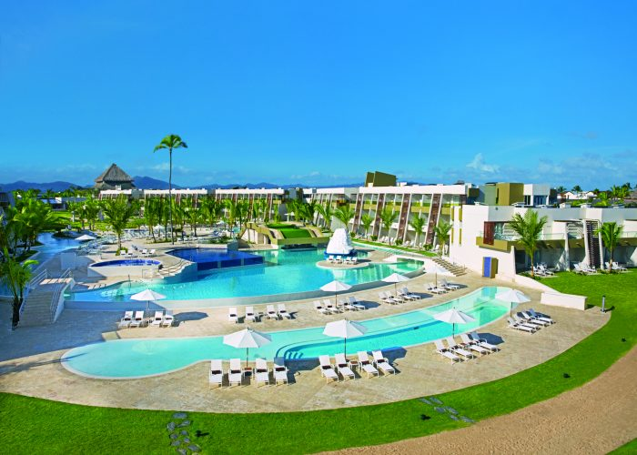 Arial view of Now Onyx Punta Cana